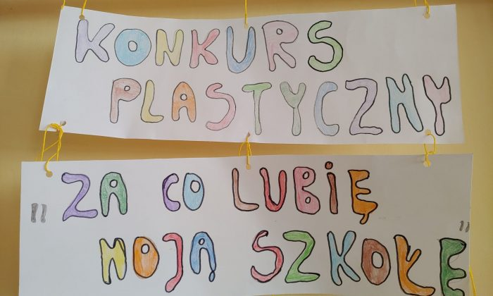 Rozstrzygnięcie konkursu plastycznego dla klas 1-3