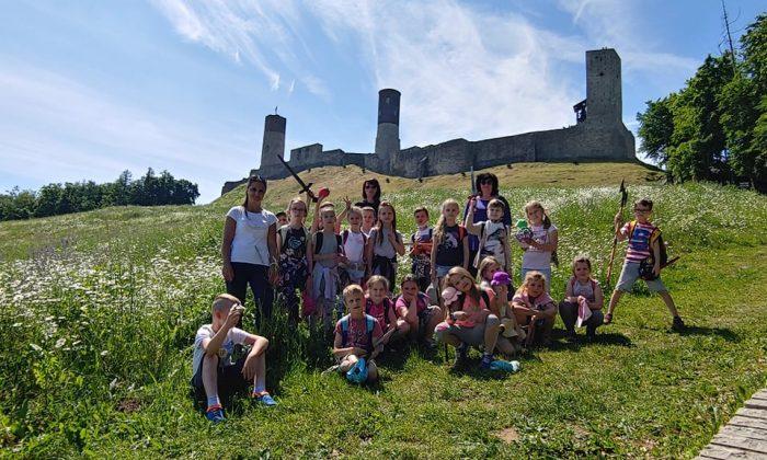 Klasa 1a na zamku w Chęcinach
