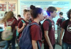 Rajd trasą szkół noszących imię Bohaterów Armii Krajowej