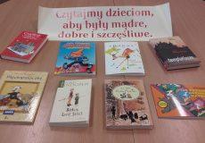 Wspieranie rozwoju czytelnictwa wśród dzieci i młodzieży naszej szkoły przez bibliotekę szkolną