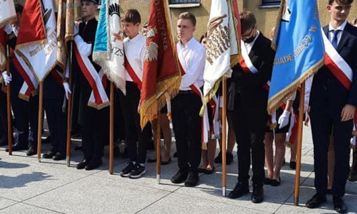 Uroczystość upamiętniająca żołnierzy 4 Pułku Legionów